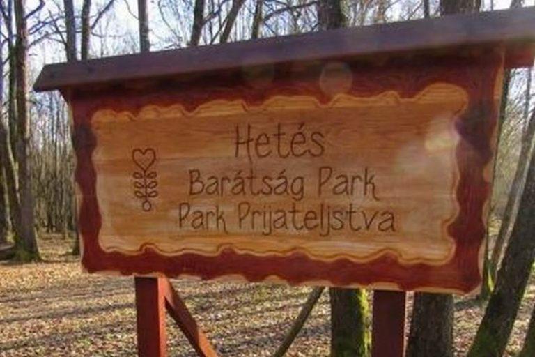 park prijateljsktva dobrovnik 768x512
