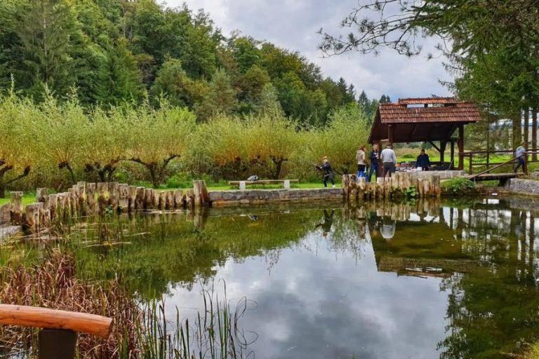 Jezero pri Koči - Spodnje Blato