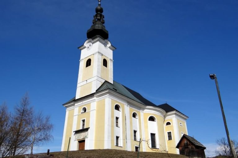 Cerkev Sv. Križ pri Dravogradu