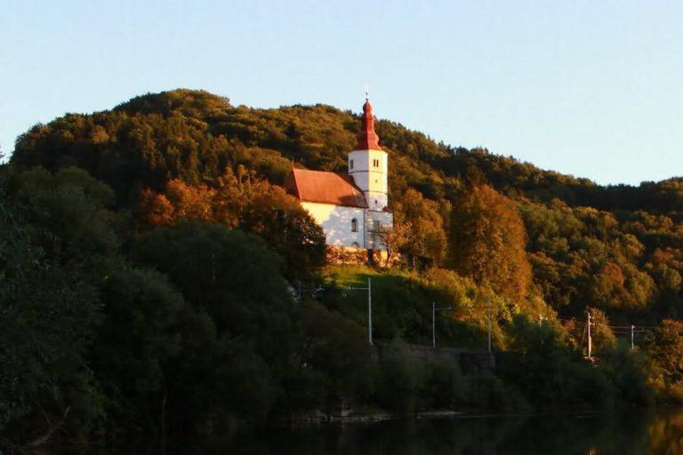 Cerkev Matere božje v Marija Gradcu Laško
