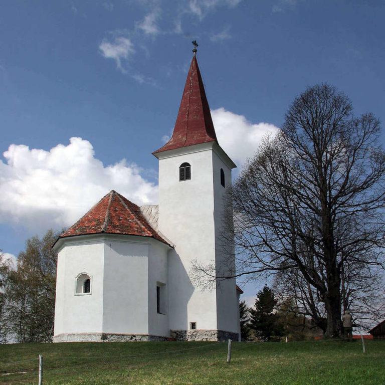 Cerkev sv. Mohorja na Šmohorju Laško