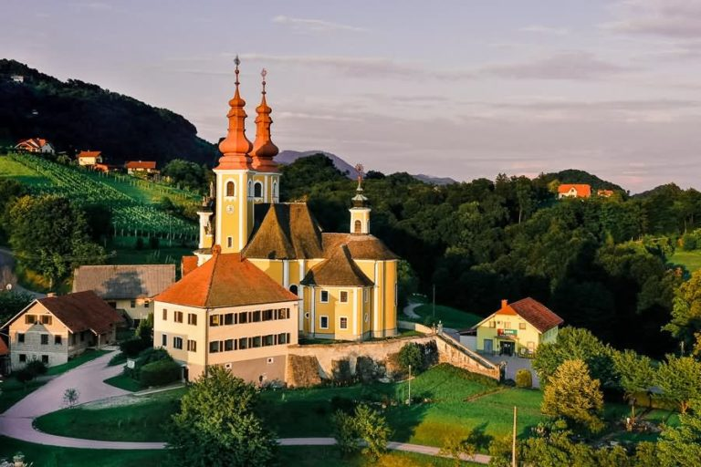 Marijina cerkev na Sladki gori Šmarje pri Jelšah