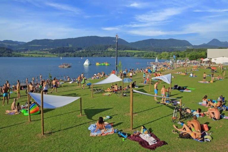 Velenjsko jezero in plaža